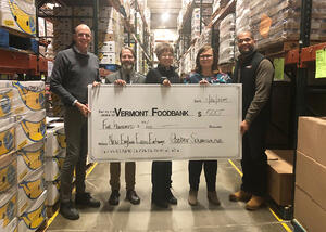 NEEE Contributes to Northeast Food Banks